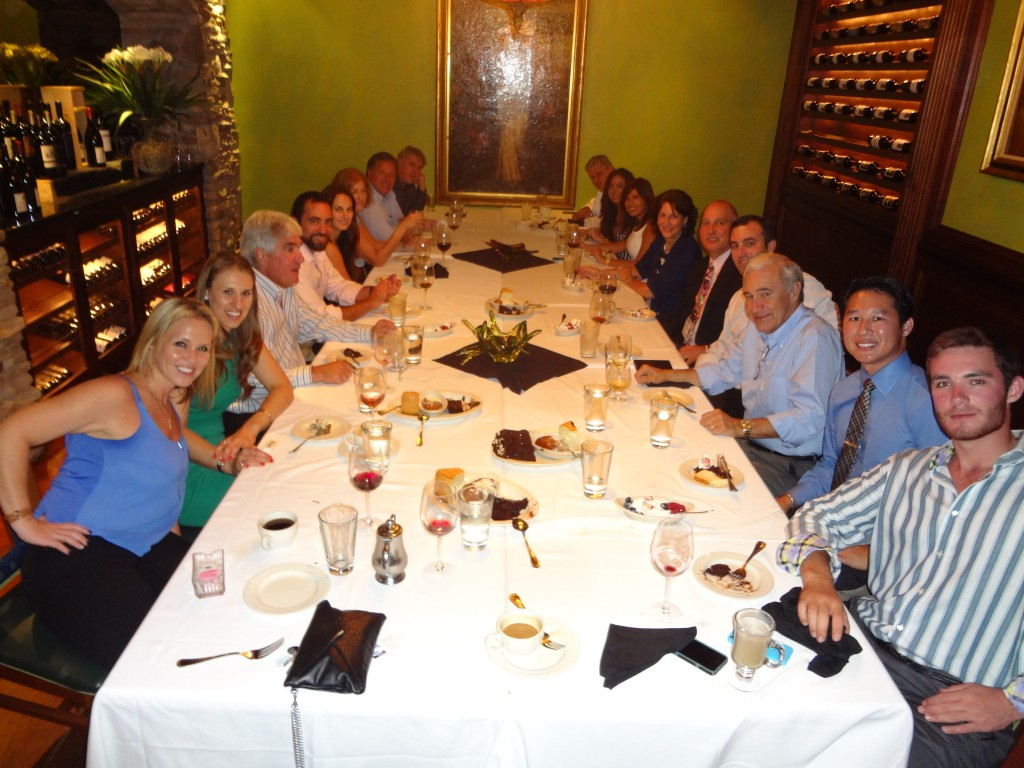 Dinner Charlie's Steak - 2014 ICSC Florida Conference