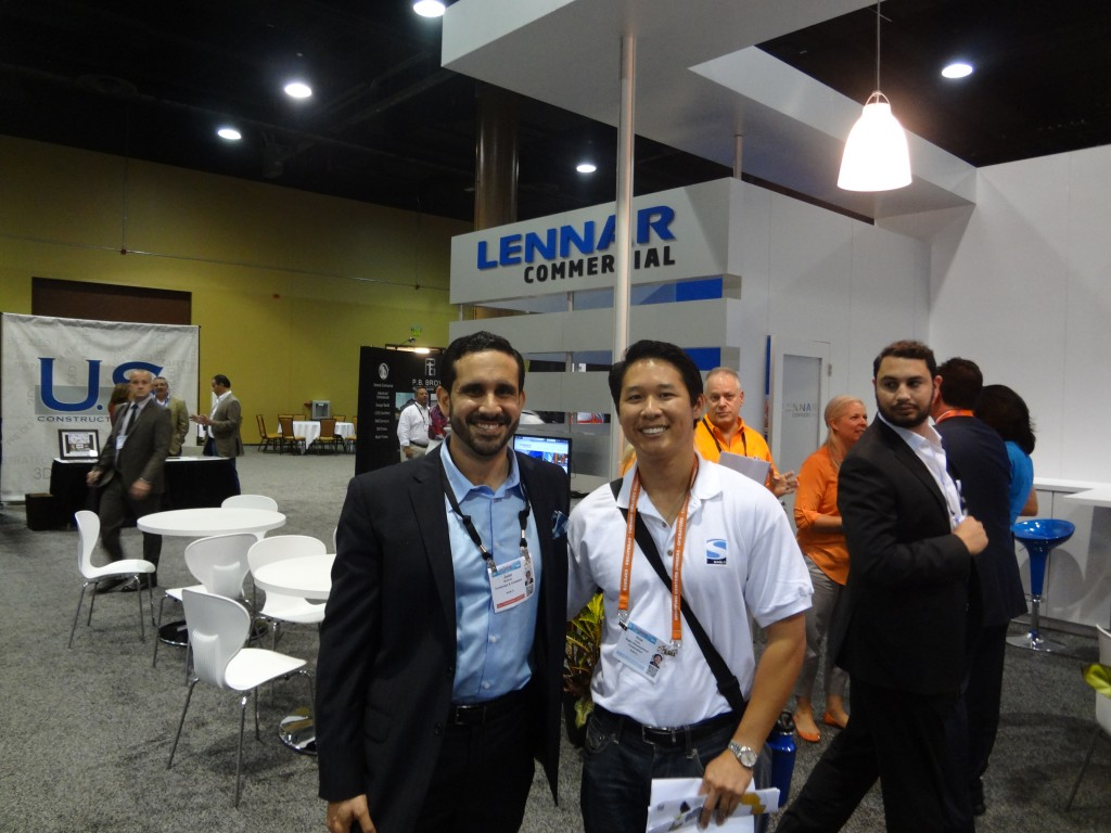 Hue and Juan at Lennar