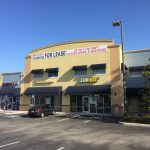 Inline retail stores at Shoppes of Armenia, Tampa, FL